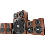 Trust Vigor 5.1 Surround Speaker System brown - Reproduktory