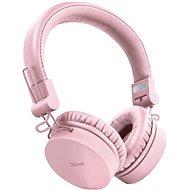 Trust Tones Pink - Bezdrátová sluchátka