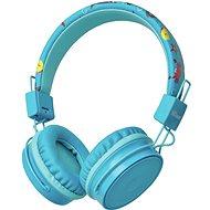 Trust Comi Bluetooth Wireless Kids Headphones, Blue - Wireless Headphones