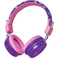 Trust Comi Bluetooth Wireless Kids Headphones fialová