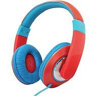 Trust Sonin Kids Headphones, Blue-Red - Headphones