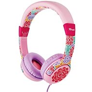 Trust Spila Kids Headphone - kytka - Sluchátka