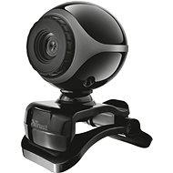 Trust Exis Webcam, černo-stříbrná - Webkamera