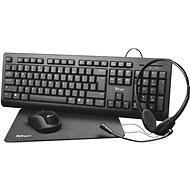 Trust Primo 4-in-1 Home Office Set - CZ/SK - Set klávesnice a myši