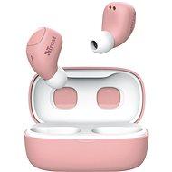 Trust Nika Compact růžová - Bezdrátová sluchátka