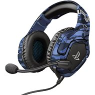 Trust GXT 488 Forze PS4 Blue - Herní sluchátka