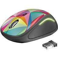 Trust Yvi FX Wireless Mouse - geometrics - Myš