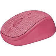 Trust Yvi Fabric Wireless Mouse - pink - Myš
