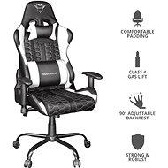 Trust GXT 708W Resto Chair White - Herní židle