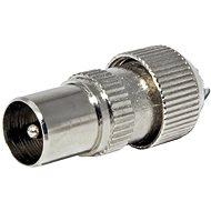 OEM Anténní konektor 75 Ohm PAL(M), IEC169-2, šroubovací, kovový - Konektor