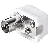 OEM Anténní konektor 75 Ohm PAL(F), IEC169-2, šroubovací, lomený - Konektor