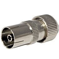 OEM Anténní konektor 75 Ohm PAL(F), IEC169-2, šroubovací, kovový - Konektor