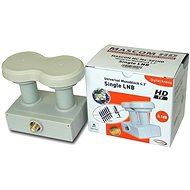 LNB Mascom Monoblock Single MCM4S01HD Gold 4.3° - Konvertor