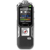 Philips DVT6010 černo-stříbrný - Diktafon