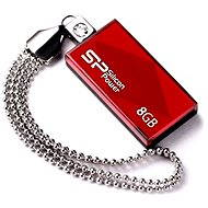 Silicon Power Touch 810 Red 8GB - Flash disk