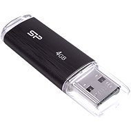 Silicon Power Ultima U02 Black 4GB - Flash disk