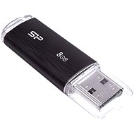 Silicon Power Ultima U02 Black 8GB - USB Flash Drive
