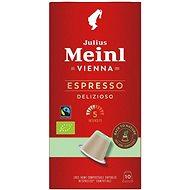 Julius Meinl Nespresso kompostovatelné kapsle Espresso Bio & Fairtrade (10x 5.6 g / box) - Kávové kapsle