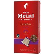 Julius Meinl Nespresso kompostovatelné kapsle Lungo Fairtrade (10x 5.6 g / box) - Kávové kapsle