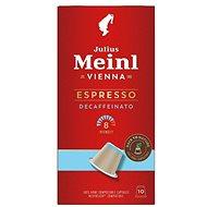 Julius Meinl Nespresso kompostovatelné kapsle Espresso Decaf (10x 5.6 g / box) - Kávové kapsle