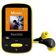 SanDisk Sansa Clip Sports 8GB žlutý - FLAC přehrávač