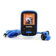SanDisk Sansa Clip Sports 8GB modrý - FLAC přehrávač