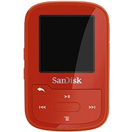 SanDisk Sansa Clip Sports Plus 16GB červený