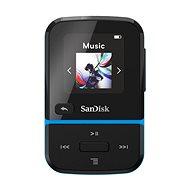 SanDisk MP3 Clip Sport Go2 32 GB, modrá - MP3 přehrávač