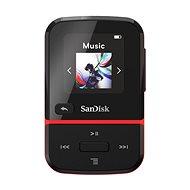 SanDisk MP3 Clip Sport Go2 32 GB, červená - MP3 přehrávač