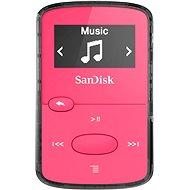 SanDisk Sansa Clip Jam 8GB růžový - MP3 přehrávač
