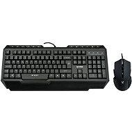 Rapoo V100 černý - Set klávesnice a myši