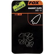 FOX Maggot Clips Velikost 10 10ks - Klip na červy