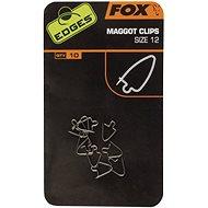 FOX Maggot Clips Velikost 12 10ks - Klip na červy