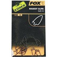 FOX Maggot Clips Velikost 8 10ks