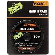 FOX Hair Braid Brown 10m - Šňůra