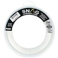 FOX Snag Leader Line 0,50mm 35lb 100m Clear - Vlasec
