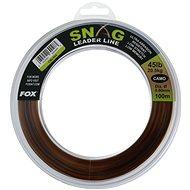FOX Snag Leader Line 0,60mm 45lb 100m Camo - Vlasec