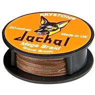 Kryston - Jackal Gravel Brown 20lb 20m - Šňůra