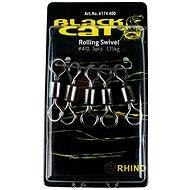 Black Cat Rolling Swivel Velikost 4/0 135kg 5ks - Obratlík