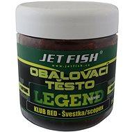Jet Fish Těsto obalovací Legend Klub Red + Švestka/Scopex 250g - Těsto
