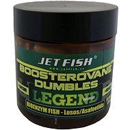 Jet Fish Boosterované dumbles Legend Bioenzym Fish + Losos/Asafoetida 14mm 120g - Dumbles