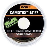 FOX - Šňůra Camotex Stiff 11,3kg 25lb 20m Dark Camo