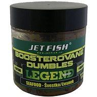 Jet Fish Boosterované dumbles Legend Seafood + Švestka/Česnek 14mm 120g - Dumbles