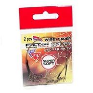 Falcon Wire Leader Spider 12kg 30cm 2ks - Lanko