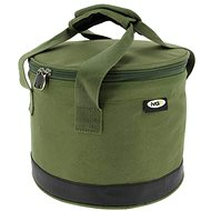 NGT Bait Bin with Handles and Cover Green - Taška
