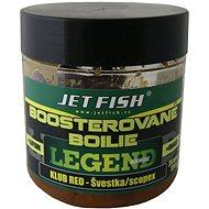 Jet Fish Boosterované boilie Legend Klub Red + Švestka/Scopex 20mm 120g - Boilie