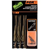 FOX Leadcore Lead Clip Rigs + Kwik Change Kit Dark Camo 3ks - Montáž