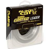 Black Cat Rubber Coated Leader 100kg 20m - Šňůra