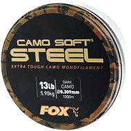 FOX Soft Steel 0,309mm 5,9kg 13lbs 1000m Dark Camo - Vlasec