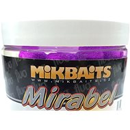 Mikbaits - Mirabel Fluo Boilie Pikantní švestka 12mm 150ml - Boilies
